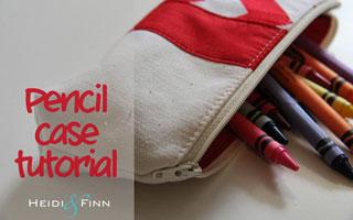 How to: กระเป๋าดินสอน่าใช้สำหรับทุกโอกาส