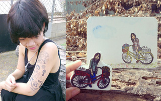 สัมภาษณ์: Madin Studio ศิลปินนักแกะยางลบภาพเหมือน