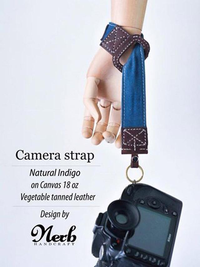 สายกล้องจาก Nerb Handcrafted