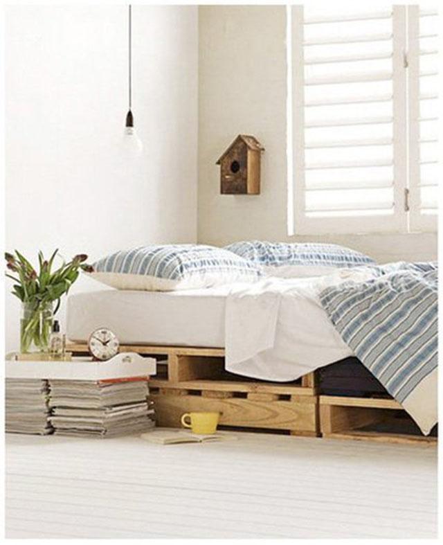 ฐานเตียงจากไม้พาเลต